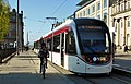 Bike and Edinburgh Tram 263 St Andrew Square - 34522614282.jpg
