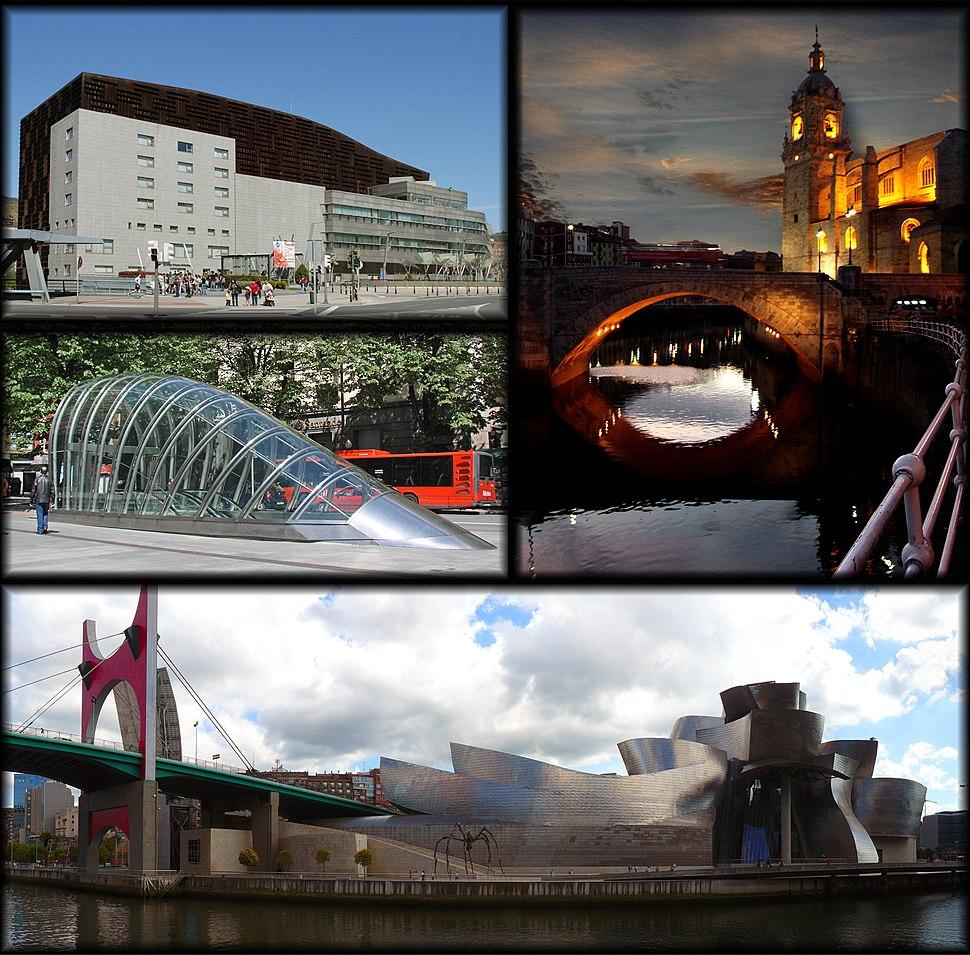 Bilbao-collage