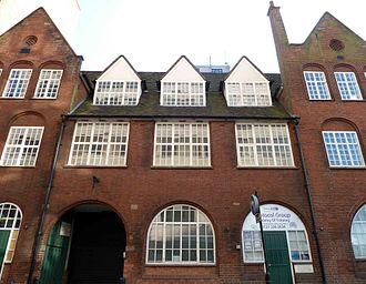 Birmingham Guild of Handicraft - The Guild's headquarters in Great Charles Street, Birmingham, designed by Arthur Stansfield Dixon in 1898