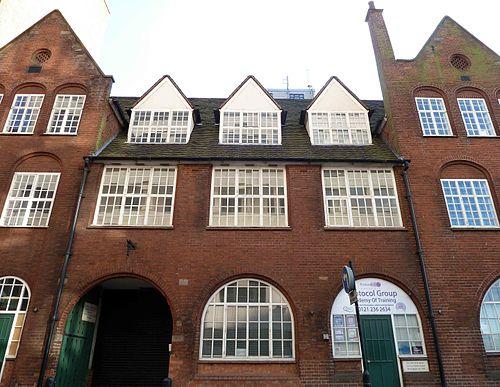 Birmingham guild of handicraft, great charles street   arthur stansfield dixon