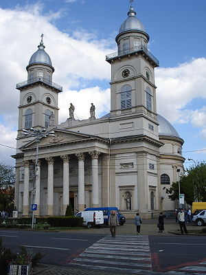 Ascension Cathedral, Satu Mare - Image: Biserica SM