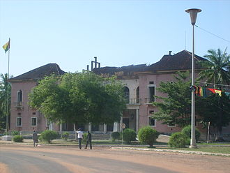 Presidential Palace, Bissau - The ruins of the old palace