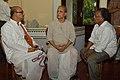 Biswatosh Sengupta - Ramananda Bandyopadhyay - Tarak Sengupta - Kolkata 2014-05-26 4744.JPG