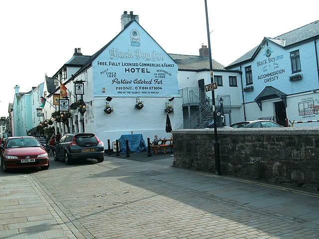 Black Boy Inn Caernarfon Dog Friendly