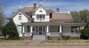 National Register of Historic Places listings in Deaf Smith County, Texas - Image: Black house (Hereford TX) from SE 1