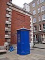 Blue booth, St Paul's churchyard, Covent Garden - geograph.org.uk - 774071.jpg