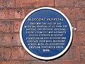 Blue plaque on the Blue Coat Hospital - geograph.org.uk - 837009.jpg