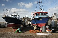 Boats under repair - geograph.org.uk - 711677.jpg