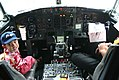 Boeing 737-4Q8 PK-KKI Adam Air cockpit.jpg