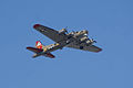 Boeing B-17G-85-DL Flying Fortress Nine-O-Nine Arrival Pass 05 CFatKAM 09Feb2011 (14797264240).jpg