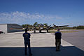 Boeing B-17G-85-DL Flying Fortress Nine-O-Nine Landing Taxi 33 CFatKAM 09Feb2011 (14983920815).jpg