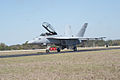 Boeing FA-18F Super Hornet Taxi Out 07 TICO 13March2010 (14619488603).jpg