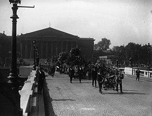 Maurice Bokanowski - Bokanowski's funeral in 1928