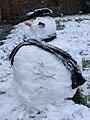 Bonhomme de neige en janvier 2019 à Saint-Maurice-de-Beynost (France).jpg