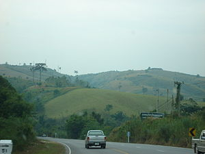 Phetchabun Mountains - Image: Border of Phetchabun
