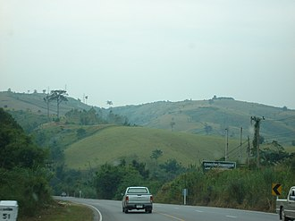 Phetchabun Mountains - Image: Border of Phetchabun