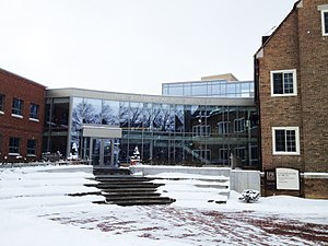 Baldwin Wallace University - Boesel Musical Center which is connected to several buildings that make up the BW Conservatory of Music