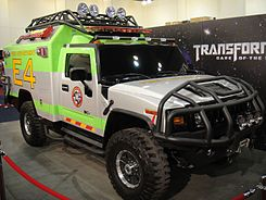 BotCon 2011 - Ratchet Search and Rescue H2 Hummer (5802069093).jpg