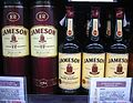 Bottles of Jameson Irish Whiskey.JPG