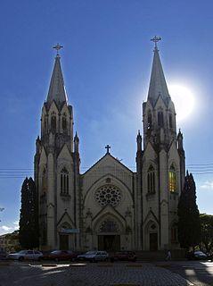 Botucatu Municipality in Southeast, Brazil