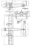 Boulton Paul P.64 Mailplane 3-view NACA-AC-177.png