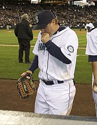 Brad Wilkerson i Seattle Mariners dräkt 2008.