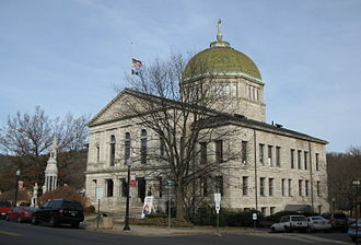 National Register of Historic Places listings in Bradford County, Pennsylvania - Image: Bradford County Courthouse Nov 09