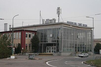 How to get to Železničná stanica Bratislava-Nové Mesto with public transit - About the place