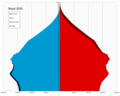 Brazil single age population pyramid 2020.png