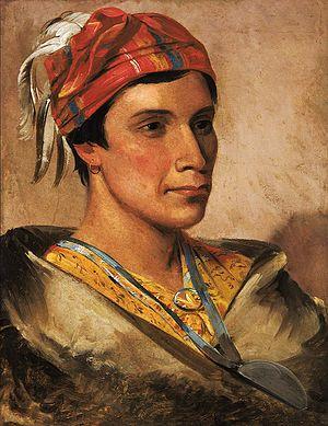 Laura Cornelius Kellogg - Daniel Bread, Chief of the Oneida, 1831