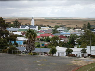 Bredasdorp Place in Western Cape, South Africa