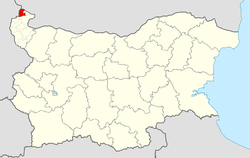 Bregovo Municipality within Bulgaria and Vidin Province.
