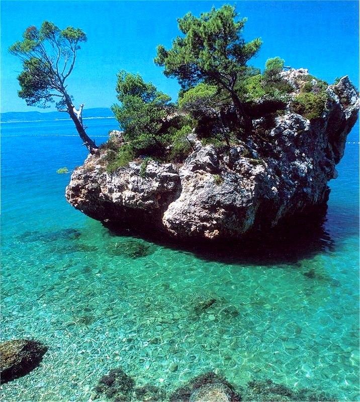 Brela, Southern Dalmatia, Croatia