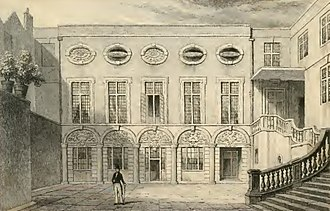 Worshipful Company of Brewers - Brewers' Hall in 1831