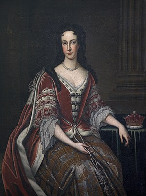 Peregrine Bertie (senior) - Peregrine's daughter Bridget (pictured) later became Countess Poulett by marriage.