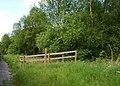 Bridleway crosses the railway - geograph.org.uk - 1332248.jpg