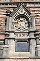 Bristol. Brandon Hill. Cabot Tower. Coat of arms of Venice and Plaque.jpg