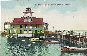 Britannia Canoe Club Ottawa Ontario 1907.JPG