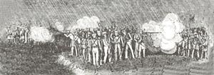 Sanyuanli Incident - Image: British soldiers at Sanyuanli May 1841