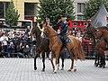 Brno, náměstí Svobody - mezinárodní policejní mistrovství ČR v jízdě na koni - příjezd a defilé soutěžních ekvip obr19.jpg