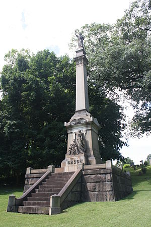 Easton Cemetery - Image: Bruch Monument, Easton Cemetery