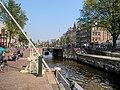 Brug 313 Eenhoornsluis, in de Haarlemmerdijk over de Korte Prinsengracht foto 1.jpg