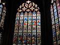 Brugge Kathedraal Sint-Salvator (glasraam).JPG