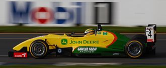 Dallara - Bruno Senna drives a Dallara F304 Formula Three Car during a support race at the 2006 Australian Grand Prix