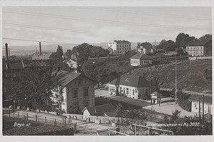 Bryn Station - The station sometime after 1902