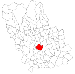 Location of Bucov