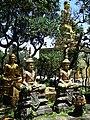 Buddhist Statues - Bokor Hill Station - Near Kampot - Cambodia (48529035782).jpg