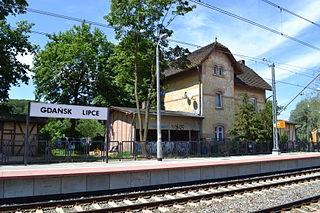 Gdańsk Lipce railway station