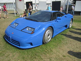 photo Bugatti EB110