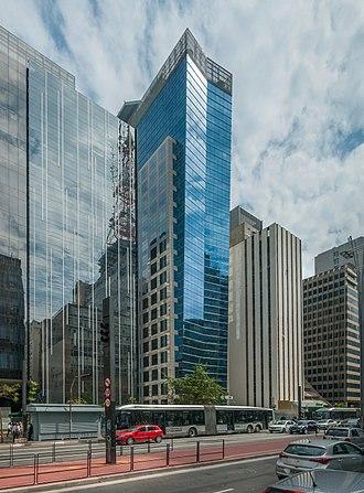 Petrobras - Skyscraper hosting Petrobras' offices in Paulista Avenue, São Paulo.